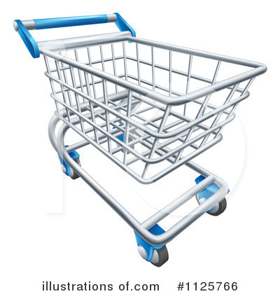 Cart clipart shoping (RF) AtStockIllustration by #1125766 Cart