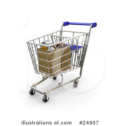 Cart clipart shoping (RF) Pargeter #24907 by Sample