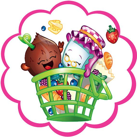 Birthday clipart shopkins 356 best Etsy toppers images
