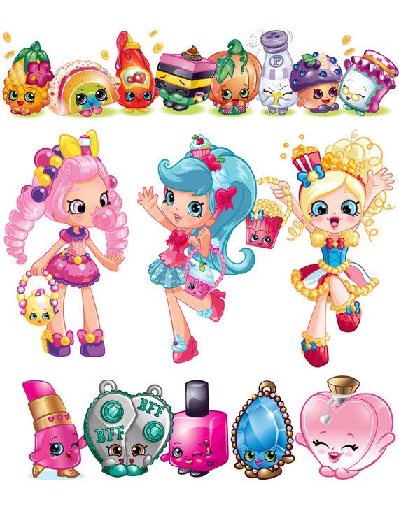 Cart clipart shopkins  OctopusDigitalStore Clip art PNG