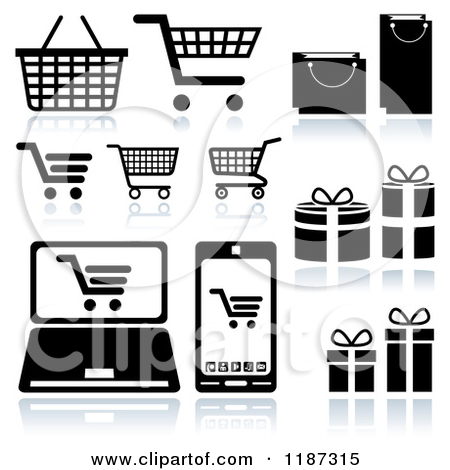 Cart clipart shopping bag Clipart Clipart Bag Download Shopping