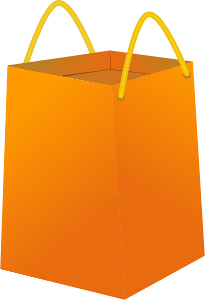Cart clipart shopping bag Com Shopping clip Clker at