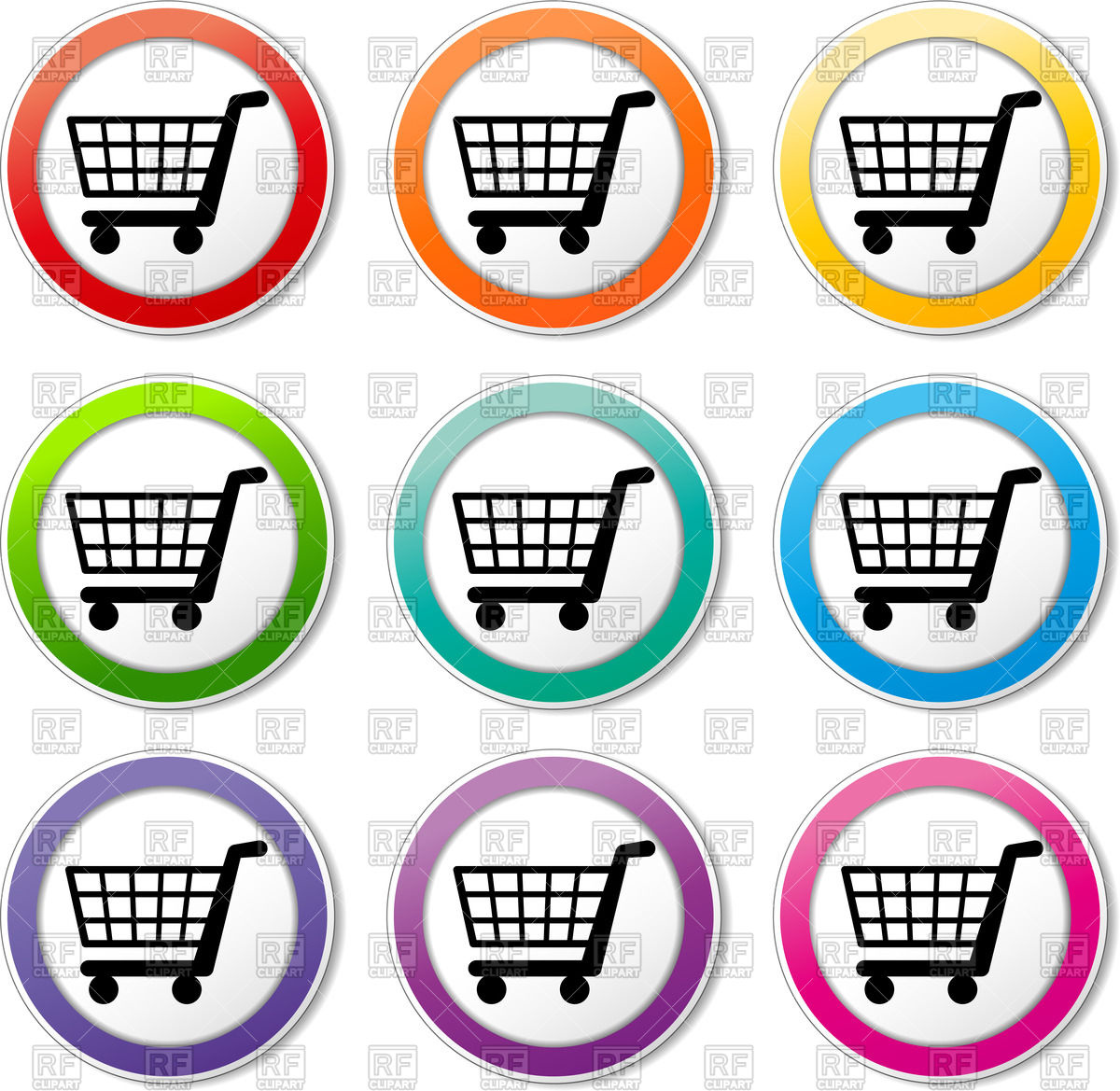 Trolley clipart shopping cart Cart Shopping Clipart Trolley Shopping