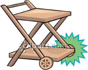 Cart clipart trolly With Cart Free Picture Wheels