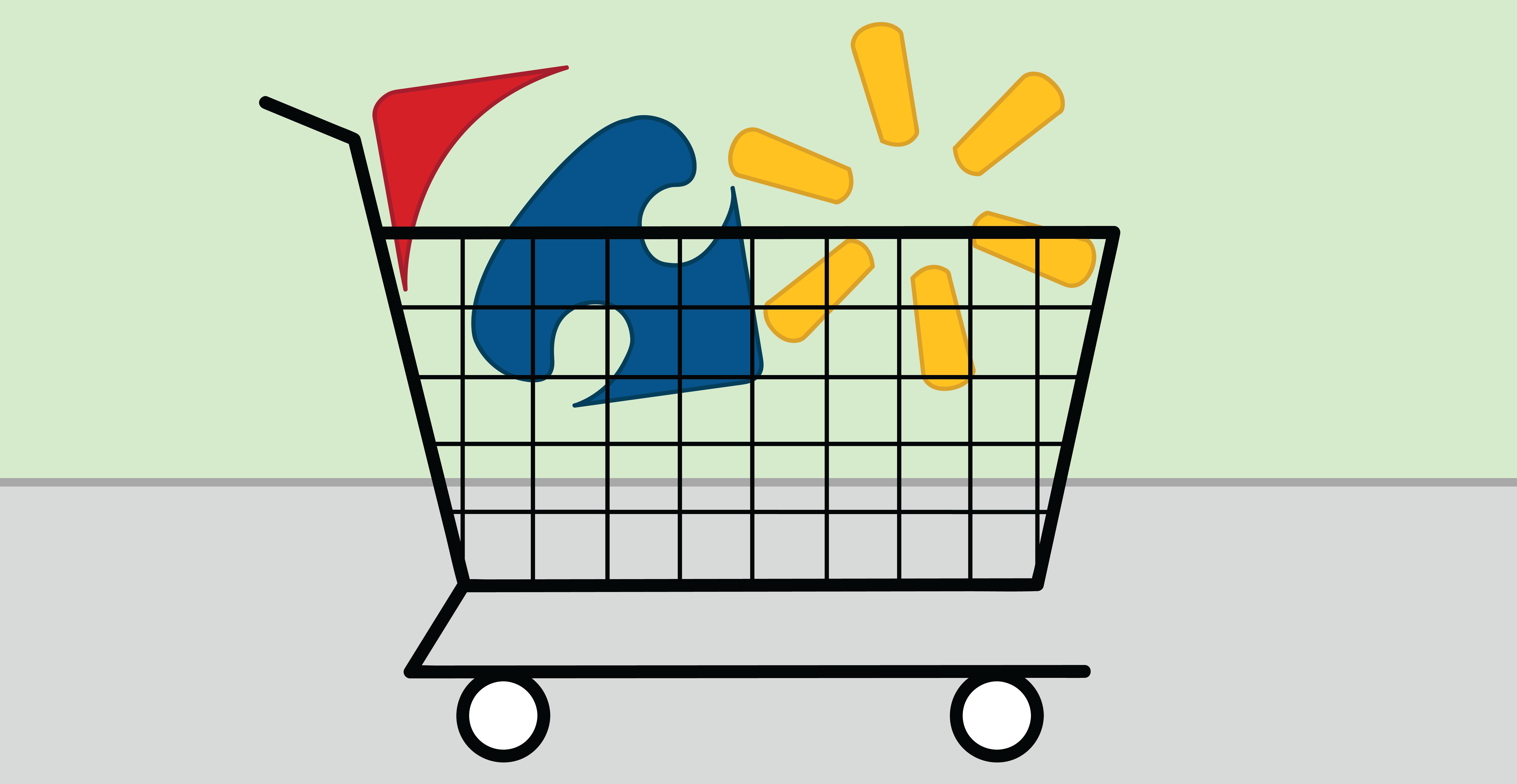 Cart clipart walmart Vs On Carrefour Mart Century