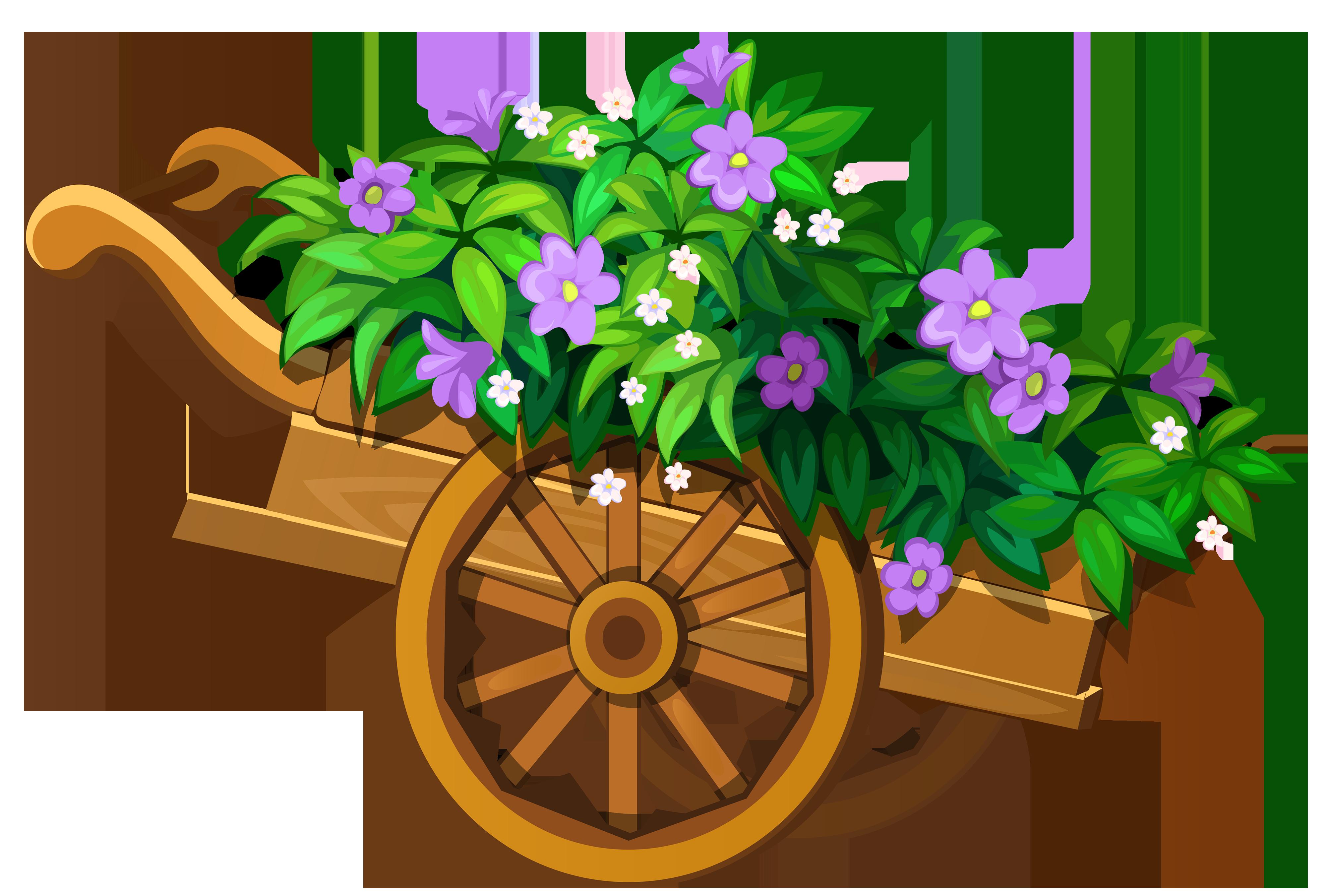 Garden clipart wheelbarrow Art Wheelbarrow Clip  Garden