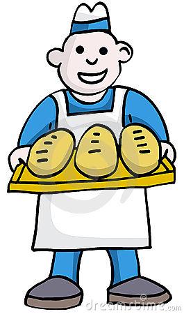 Cartoon clipart baker Clip Art Bakery Free Panda