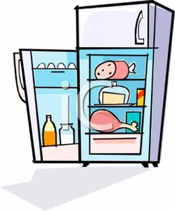 Cartoon clipart refrigerator Of Clipart Colorful Free Royalty