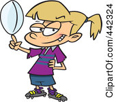 Cartoon clipart rugby Girls Clipart  Rugby