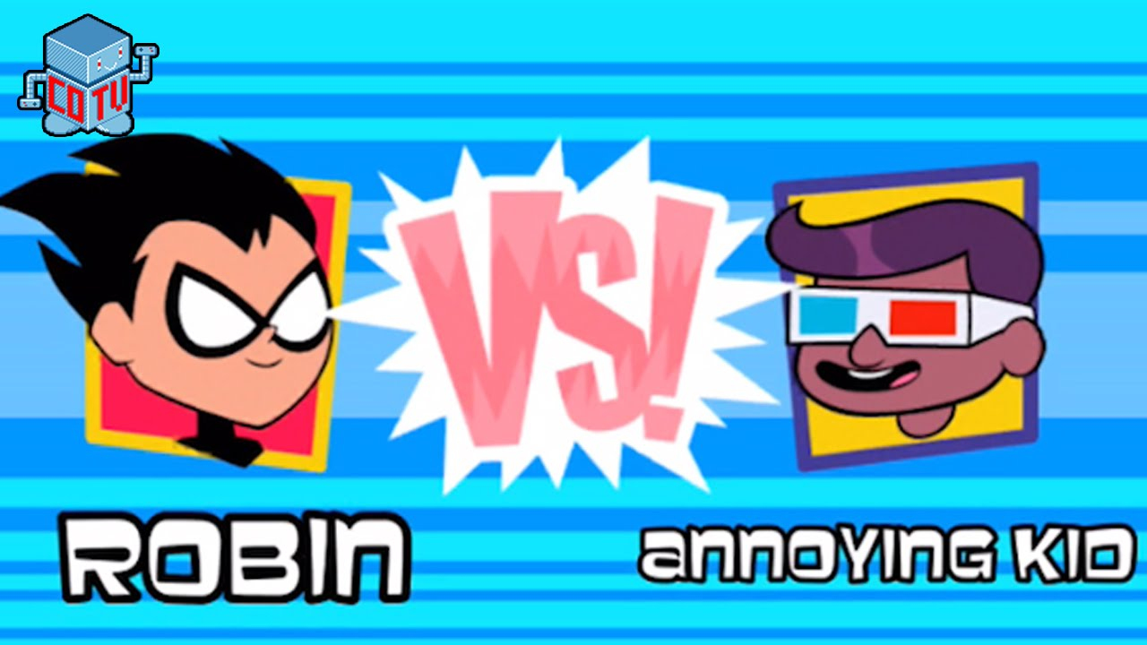 Cartoon Network clipart annoying kid Cartoon vs vs Titans Network