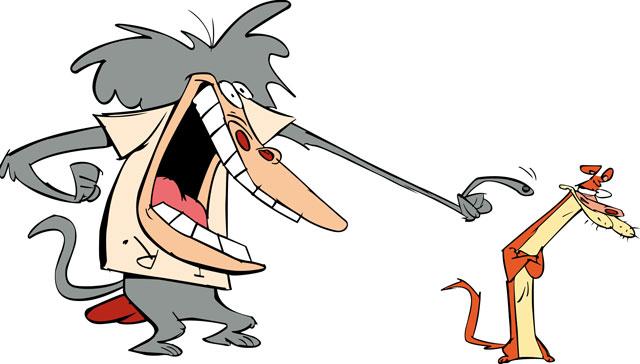 Cartoon Network clipart baboon Am Baboon) Weasel I (and
