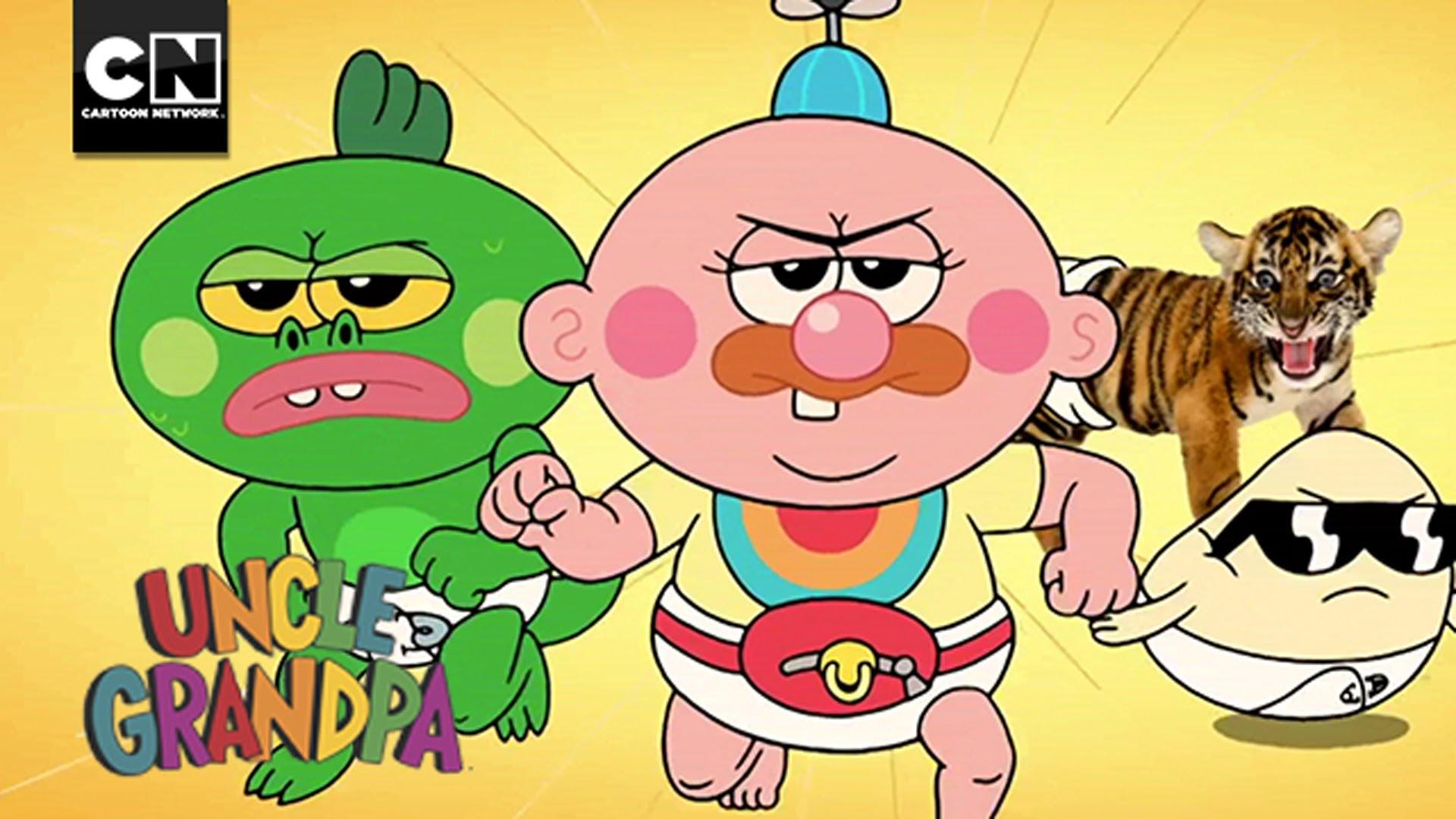 Baby clipart grandpa Diego Con Cartoon Comic Network