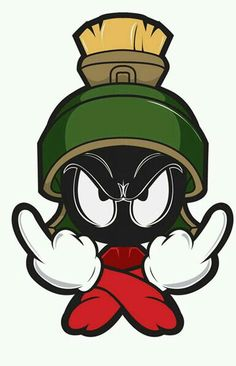 Cartoon Network clipart marvin the martian Alien Art  Fan Más