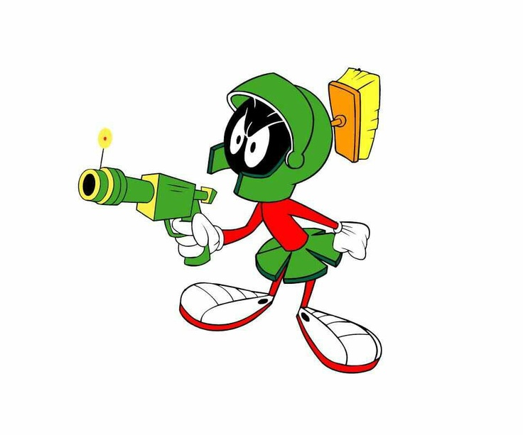 Cartoon Network clipart marvin the martian The Martian images the and
