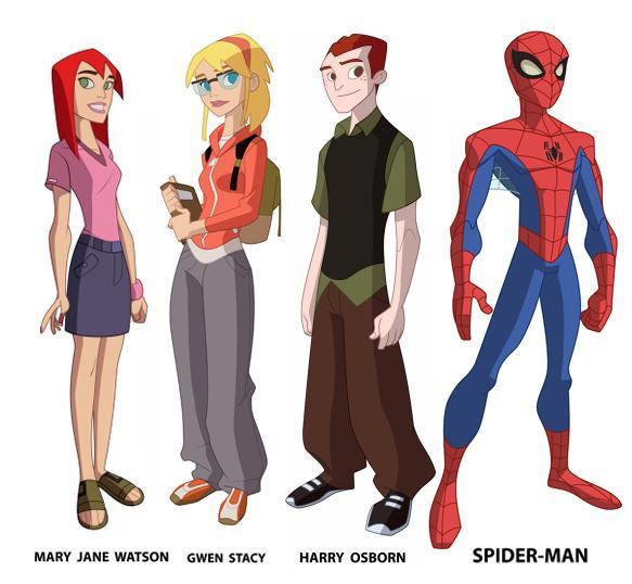 Cartoon Network clipart spiderman Spiderman Cartoon / do Cliparts