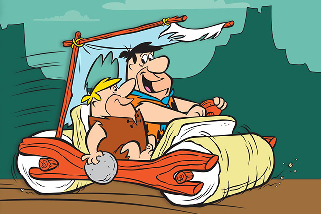 Cartoon Network clipart stone age The execrable Cars you bars