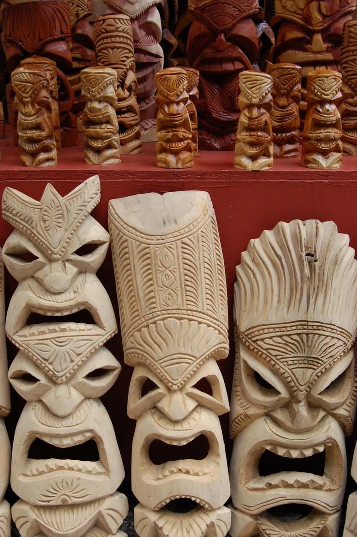 Carvings clipart clay Hawaiian Brady I see Mask