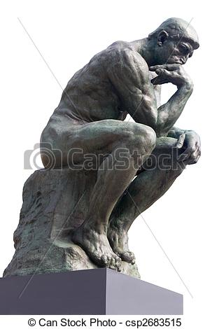 Carvings clipart thinker Statue French Photo the Stock