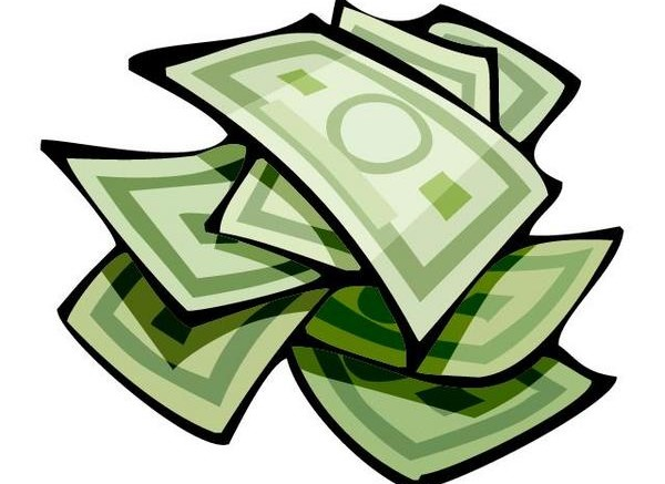 Cash clipart spending money Back Back Art Cash Clip