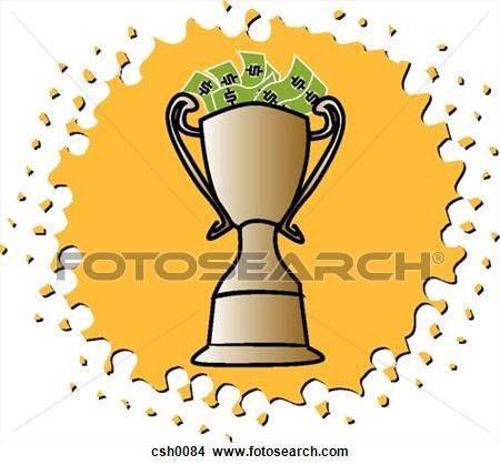 Larger clipart door prize  Prize Cash Clipart