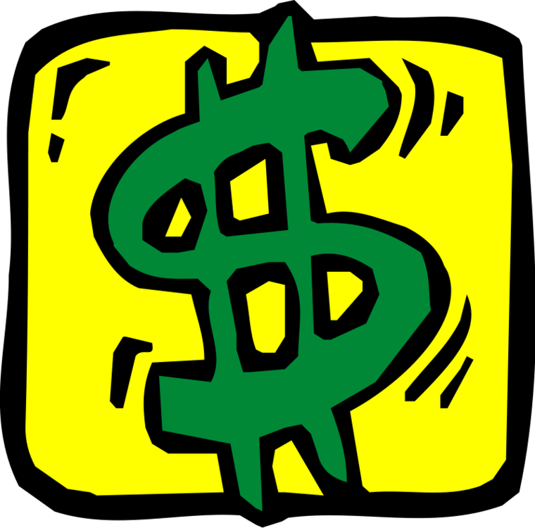 Cash clipart dollar sign #11