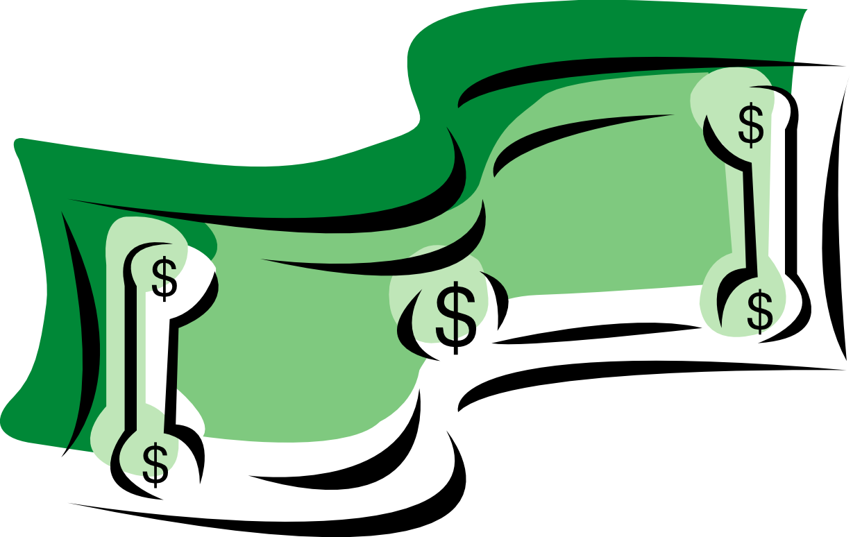 Cash clipart dollar sign #8