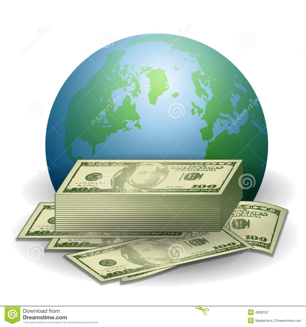 Rate clipart global economy #12