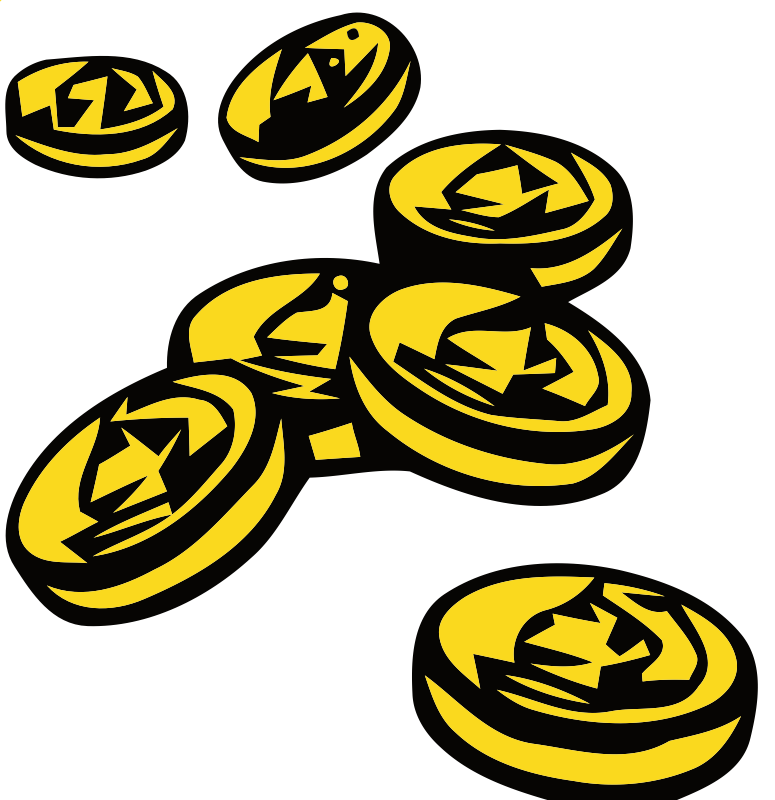 Coin clipart gold doubloon Stack Free Clip Download Free