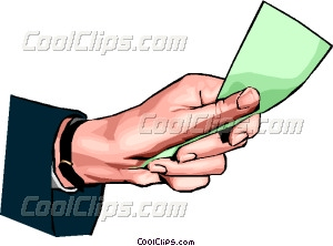 Cash clipart hand holding Clip holding money money hand