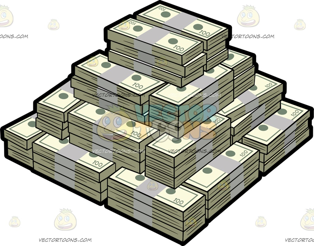 Cash clipart money bill Out A Of Bills Mountain