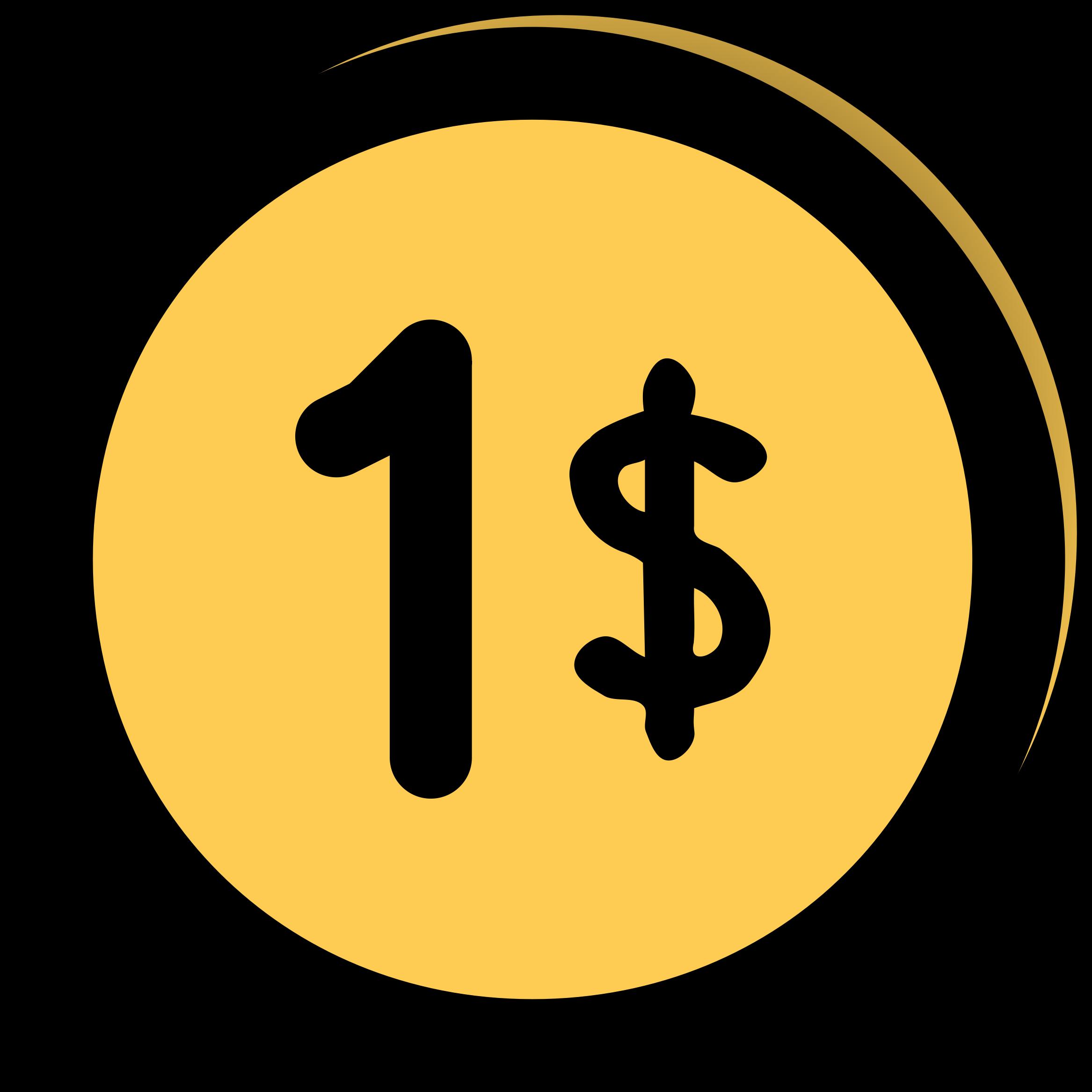 Buck clipart dollar (PNG) Dollar IMAGE Clipart BIG