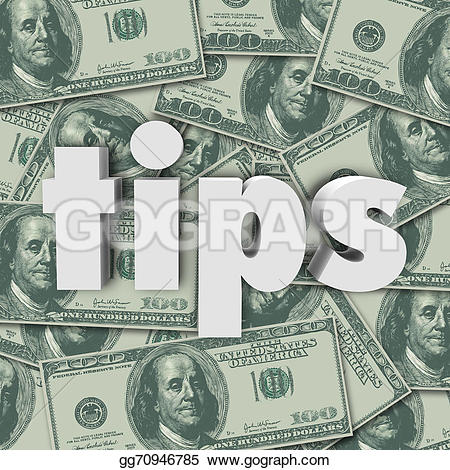 Cash clipart money tip A letters Tips you on