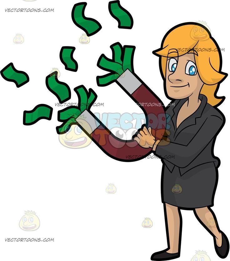 Cash clipart money tip Holding images Magnet Art Money
