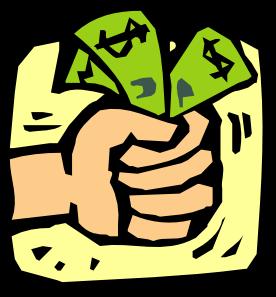 Cash clipart money tip A Budget lots cash a