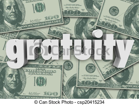 Cash clipart money tip Bill Money Tips Paying of