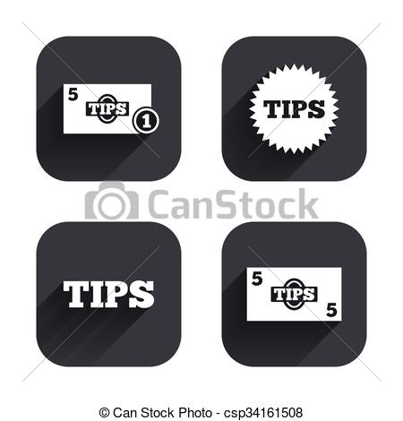 Cash clipart money tip  Cash Vector money icons