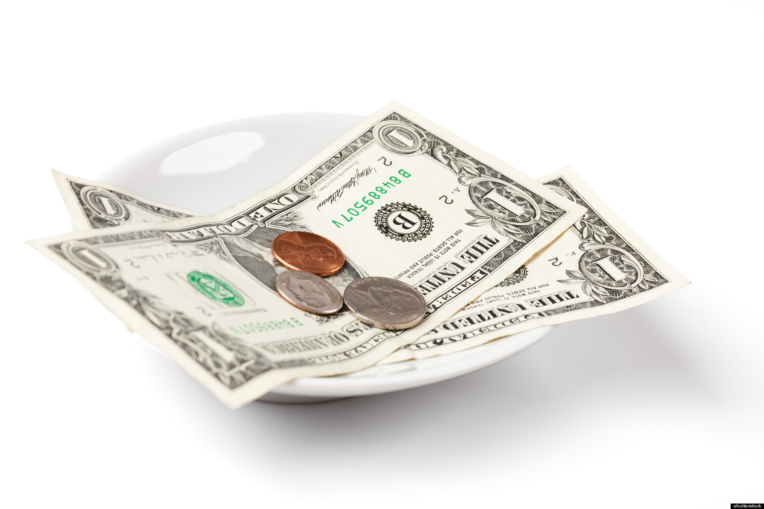Cash clipart money tip You Much: Money A Can