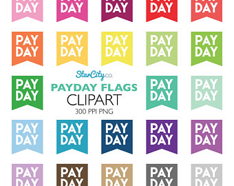 Cash clipart payday Clipart Money Payday flag day