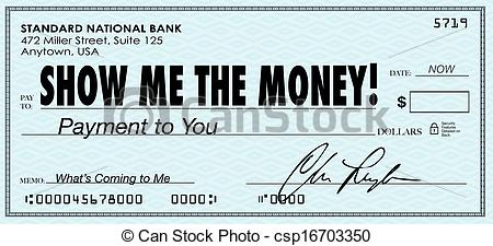 Cash clipart payday Me Wages Show Me Check
