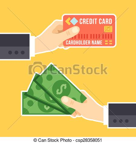 Cash clipart payment With of Hand Clipart cash