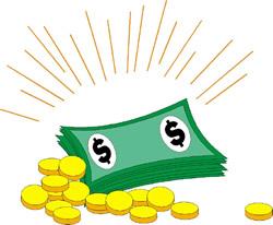 Cash clipart payment Panda clipart: Free clipart Cash