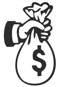 Cash clipart payment And Graphics sack Free