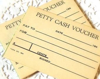 Cash clipart petty cash Vintage Embellishment Vintage Scrapbook Office