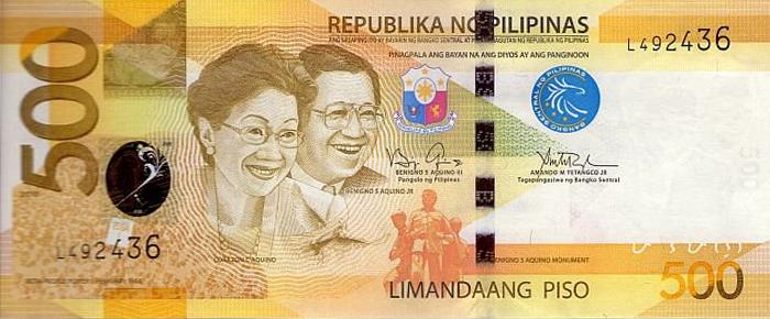 Coin clipart money peso Hundred Philippine Wikipedia five note