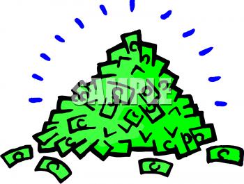 Cash clipart pile money Clip Money art Clipart Business