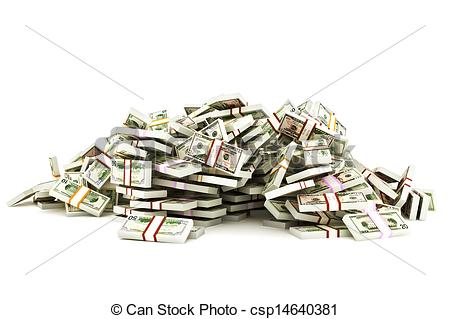 Cash clipart pile money Pile and of clipart Pile