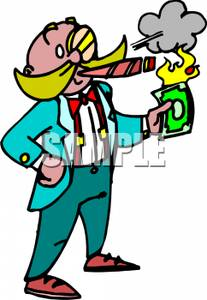Cigar clipart tobacco pipe With Money Cartoon Picture Cigar