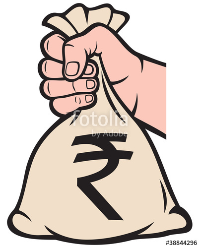 Cash clipart rupee And money image rupee