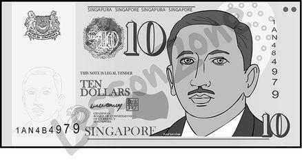 Cash clipart singapore #2