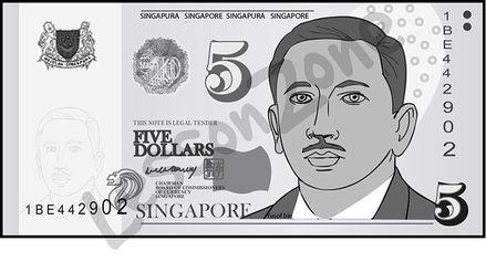 Cash clipart singapore #5